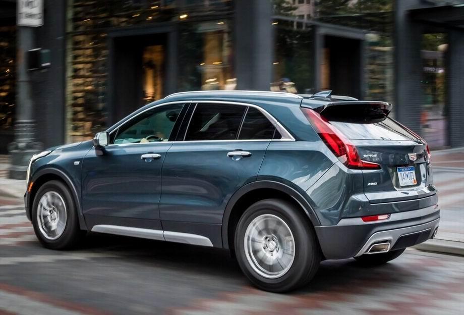 Cadillac XT4 2021 в новом кузове
