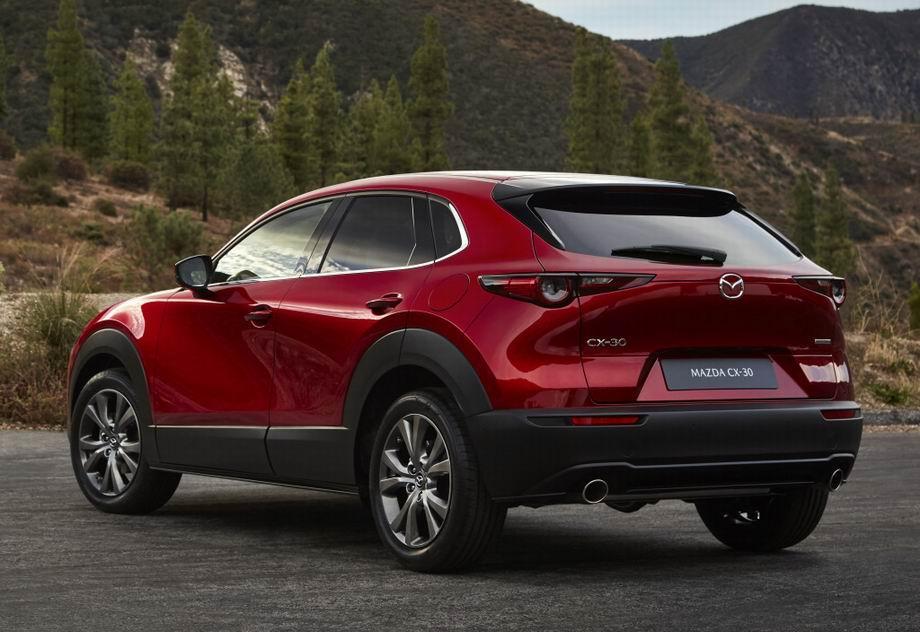 Mazda CX-30 2021 в новом кузове
