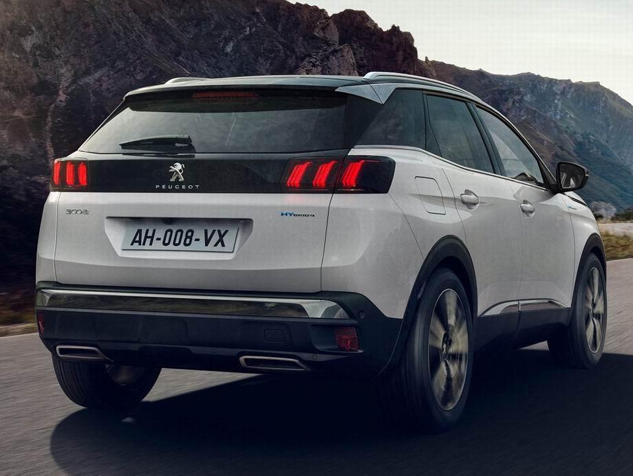 Peugeot 3008 2021 в новом кузове