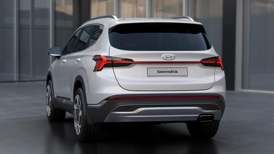 Hyundai Santa Fe 2021 в новом кузове